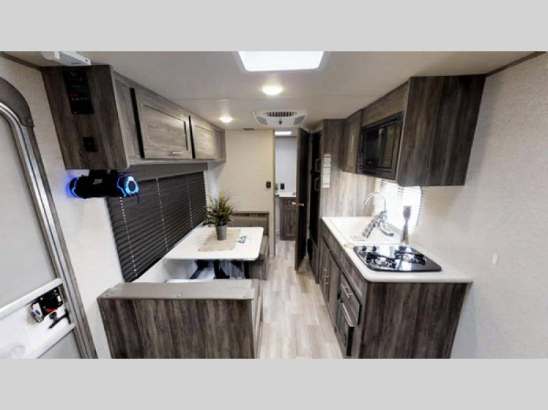 Salem travel trailer kitchen