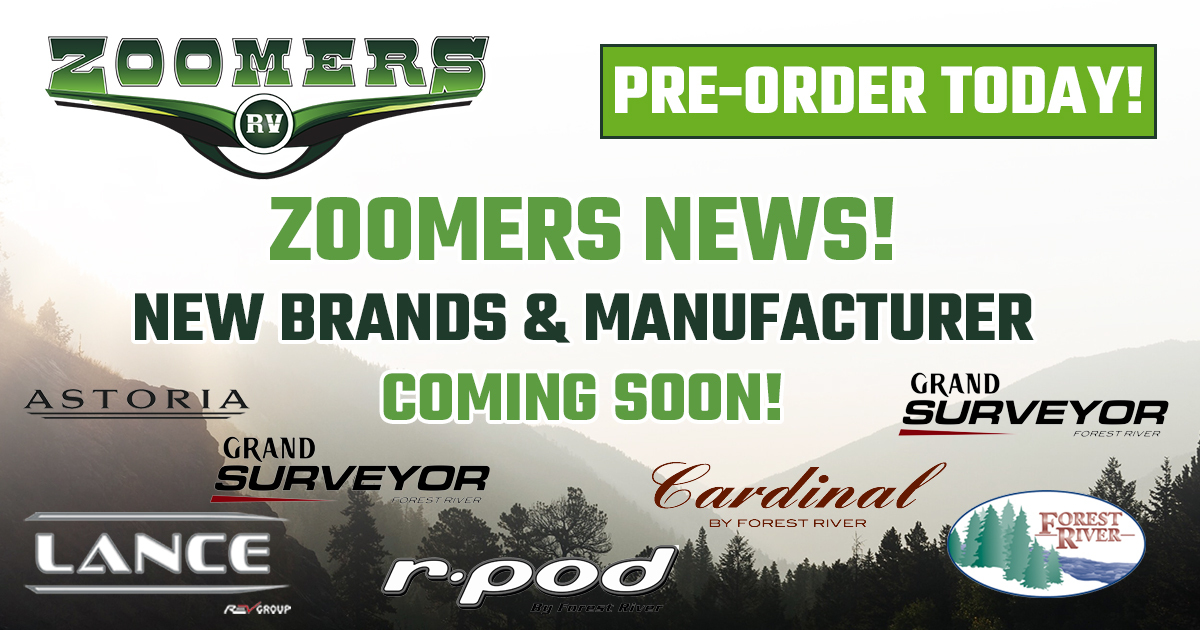 New Brands Coming to Zoomers!